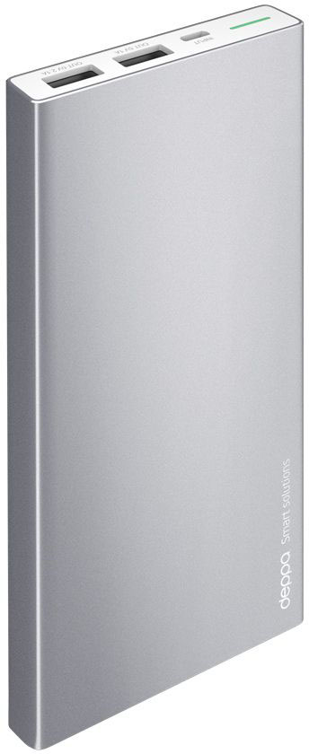 Deppa NRG Alum внешний аккумулятор (10000 мАч) аккумулятор deppa nrg power 13000mah white 33513