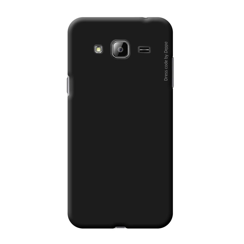 Deppa Air Case чехол для Samsung Galaxy J3 (2016), Black83247Чехол Deppa Air Case для Samsung Galaxy J3 (2016) случай редкого сочетания яркости и чувства меры. Это стильная и элегантная деталь вашего образа, которая всегда обращает на себя внимание среди множества вещей. Благодаря покрытию soft touch чехол невероятно приятен на ощупь, поэтому смартфон не хочется выпускать из рук. Ультратонкий чехол (1 мм) повторяет контуры самого девайса, при этом готов принимать на себя удары - последствия непрерывного ритма городской жизни.Чехлы Deppa Air Case изготавливаются из высококачественного поликарбоната (PC) производства Вауеr, устойчивого к сколам, ударам и царапинам. Прочная поверхность чехла с покрытием soft touch обладает противоскользящим эффектом. Все функциональные отверстия чехла идеально подогнаны по размерам и местоположению, обеспечивая полный доступ к внешним портам, слотам и разъемам гаджета.