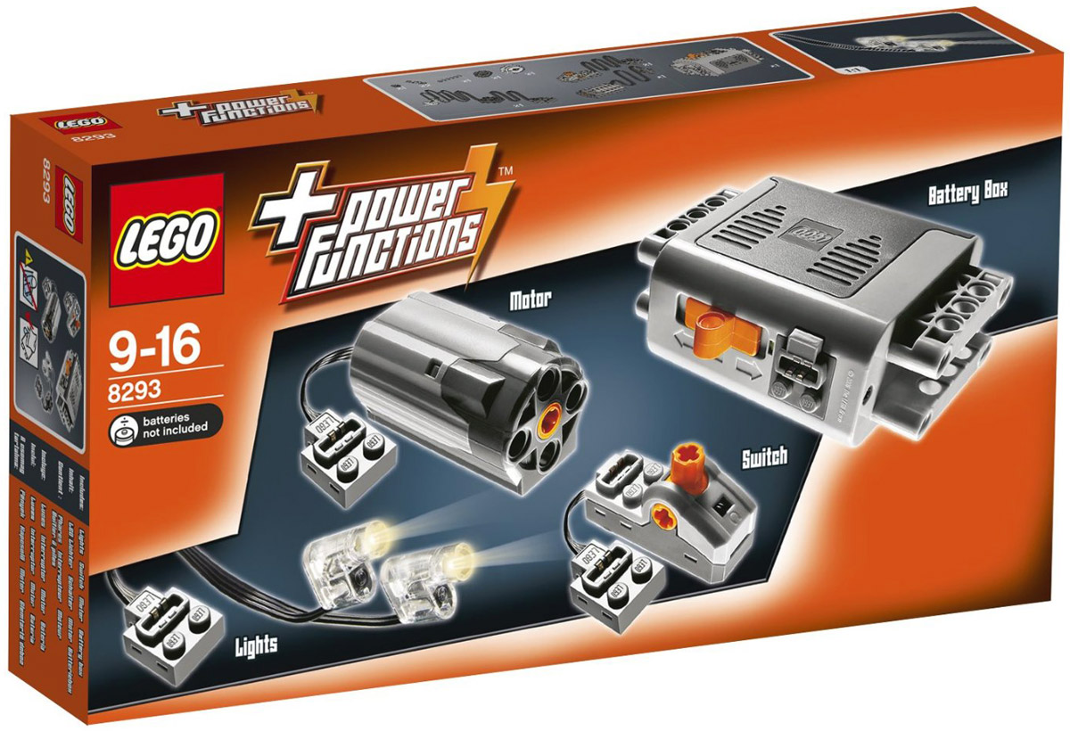 LEGO Technic Конструктор Power Functions 8293 lego technic 8293 лего техник мотор power functions