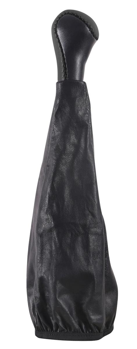 Ручка КПП Azard, для ВАЗ 2107, кожа, цвет: черный комплект сцепления на ваз 2107