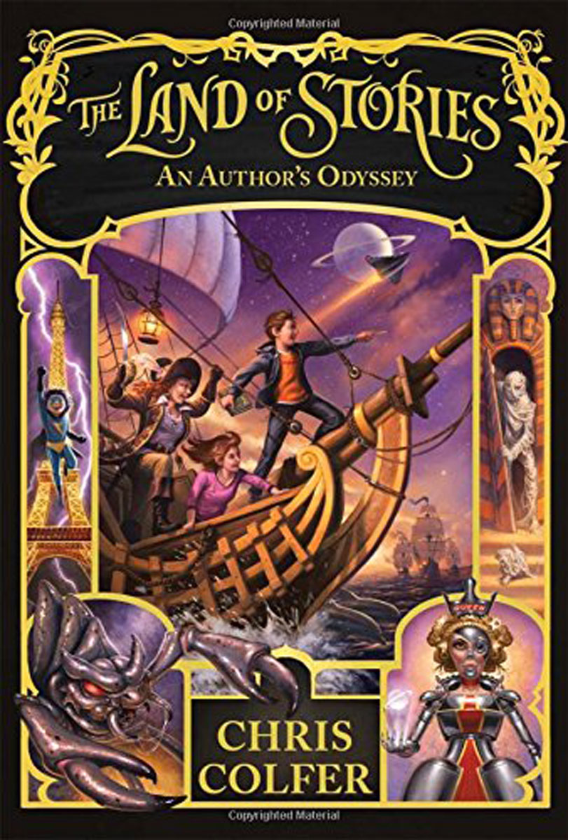 цена на The Land of Stories: 5: An Author's Odyssey