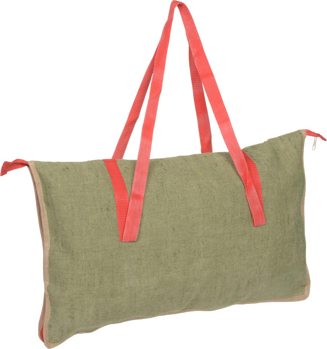 Сумка для мангала Eva, с молнией, цвет: зеленый, красный, 36 х 62 смК24_зеленый, красныйСумка Eva изготовлена из цветного хлопка с леном и предназначена для переноски мангала на пикнике и в туристических походах. Изделие оснащено двумя удобными ручками и молнией. Сумка Eva станет незаменимым аксессуаром на вашем отдыхе!Размер сумки: 36 х 62 см. Высота ручек: 40 см.