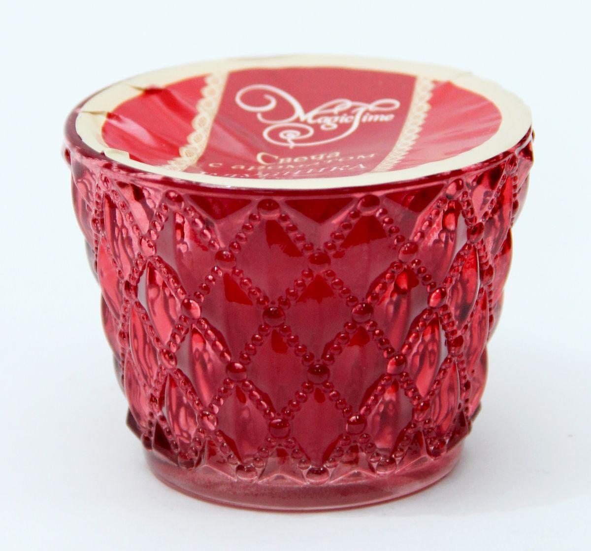 Декоративная ароматизированная свеча Magic Home, аромат Клубника, 41224 home religion свеча декоративная 50 см цилиндрическая 26003800