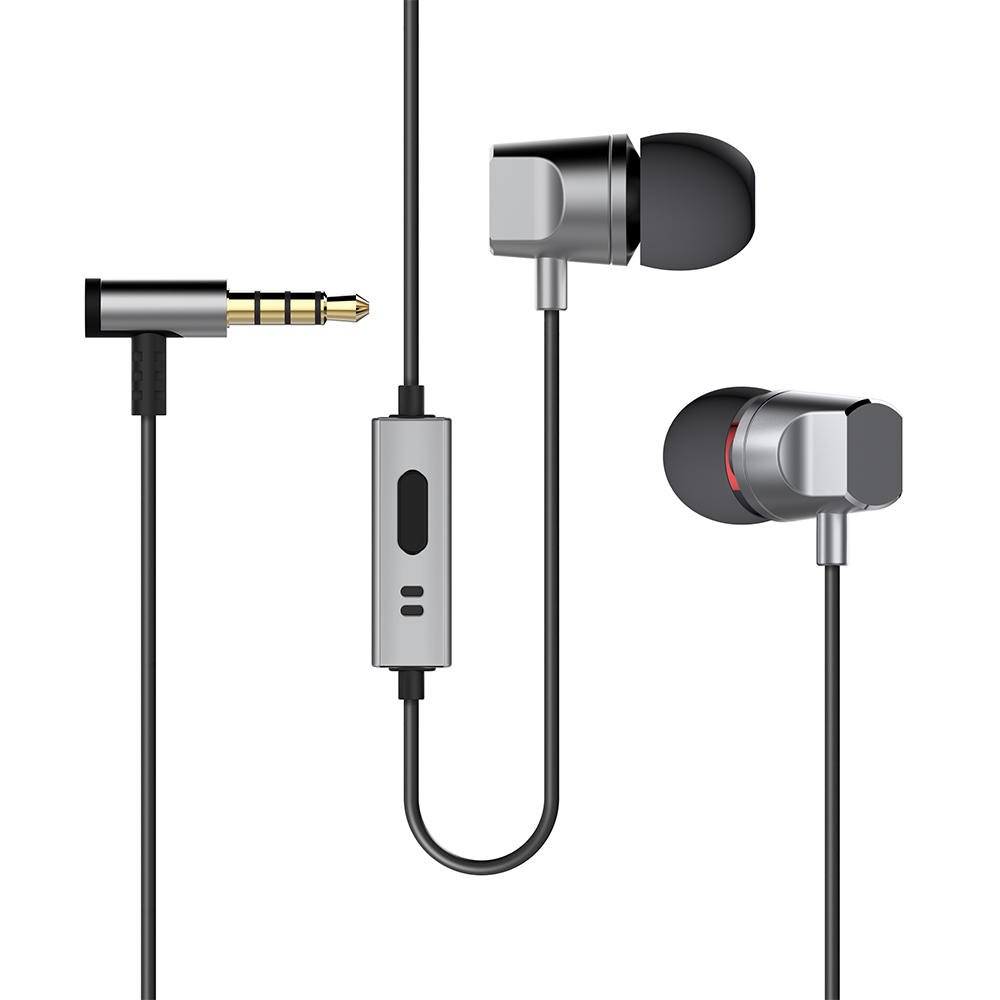 Deppa Stereo Alum, Graphite cтереогарнитура