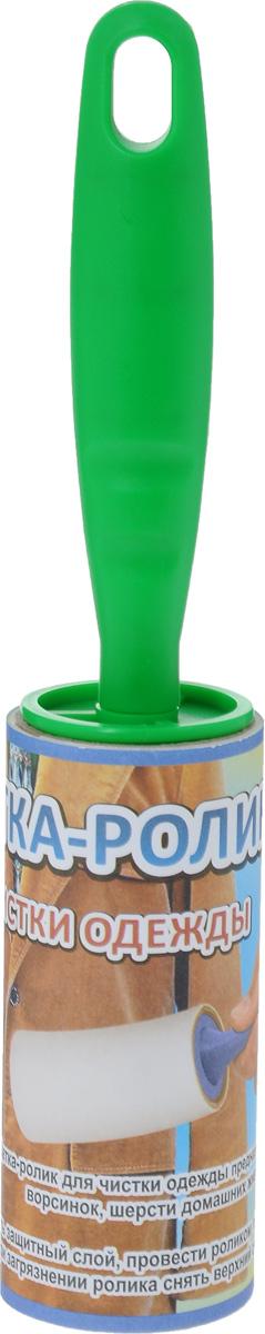 Щетка-ролик для чистки одежды Мультидом, цвет: зеленыйNY58-162_зеленыйЩетка-ролик Мультидом предназначена для удаления пыли, ворсинок, шерсти домашних животных и волос. Рабочая часть оснащена липкими отрывными листами. Ручка щетки выполнена из прочного пластикаРабочая часть снабжена 20 листами. Длина щетки-ролика: 23 см.Длина рабочей части: 10 см.Диаметр рабочей части: 4,2 см.