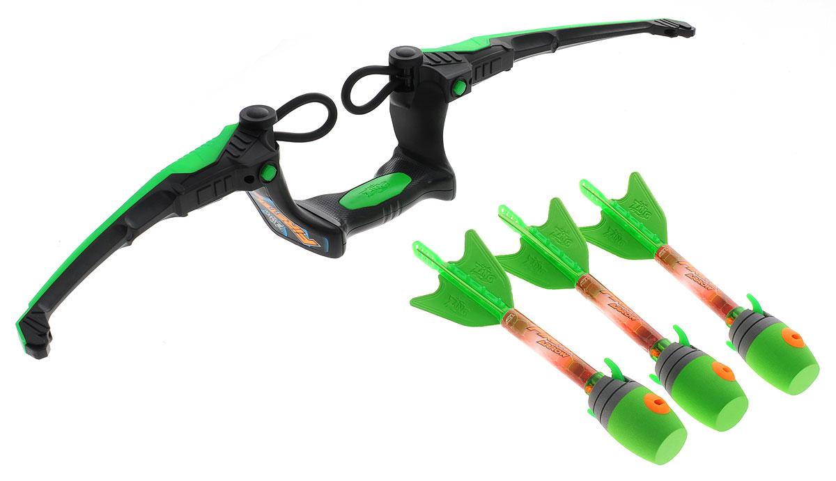 Zing Игровой набор Firetek Bow цвет зеленый игрушечное оружие zing лук z bow