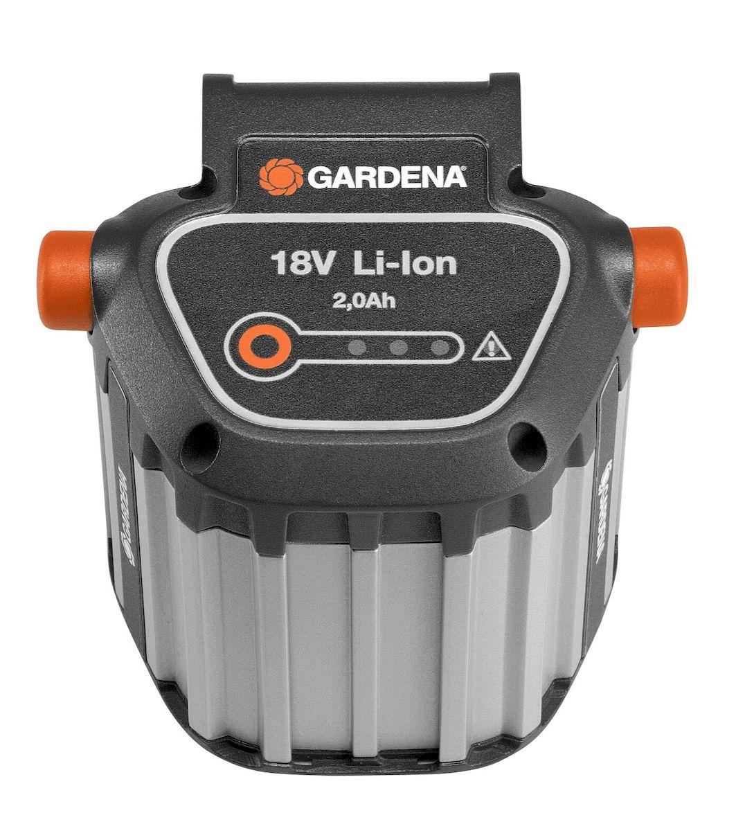 Дополнительный аккумулятор Gardena, для турботриммера EasyCut, BLi18 аккумулятор gardena bli 40 100 09842 20 000 00