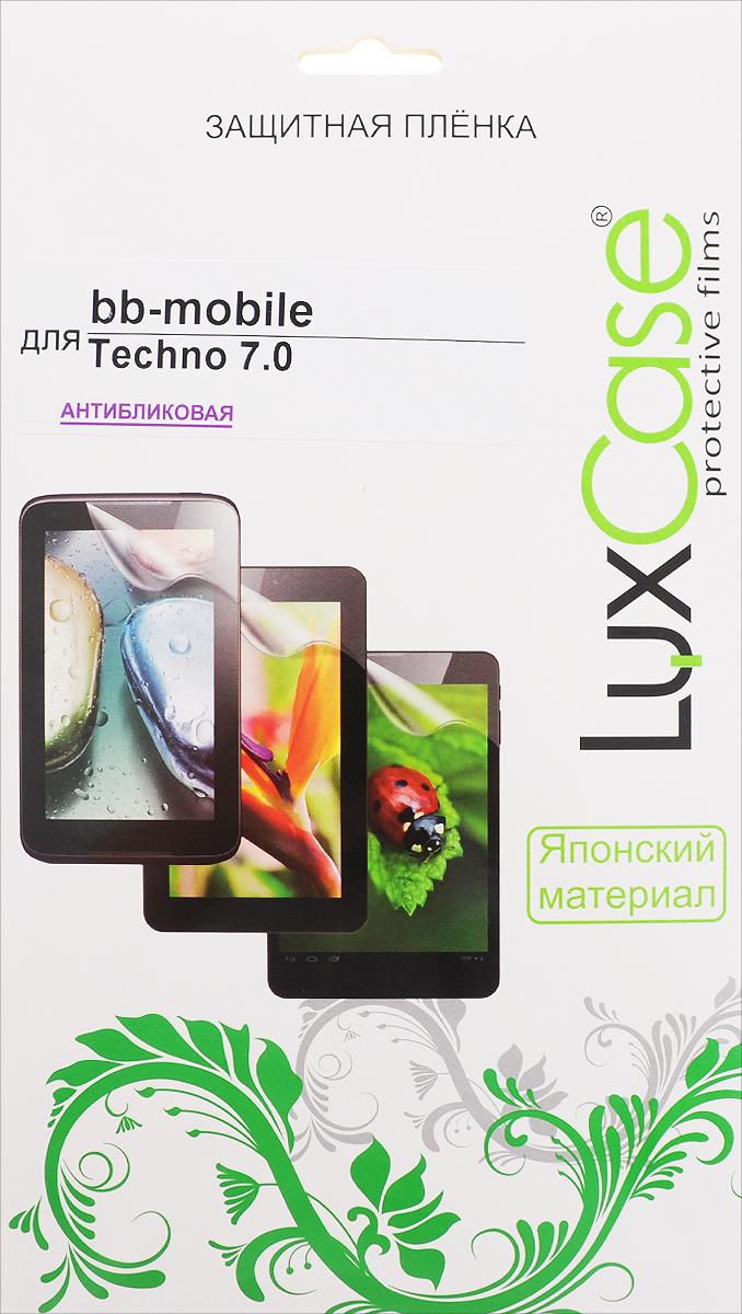 LuxCase защитная пленка для BB-mobile Techno 7.0, антибликовая гарнитура bb mobile micron 4 white