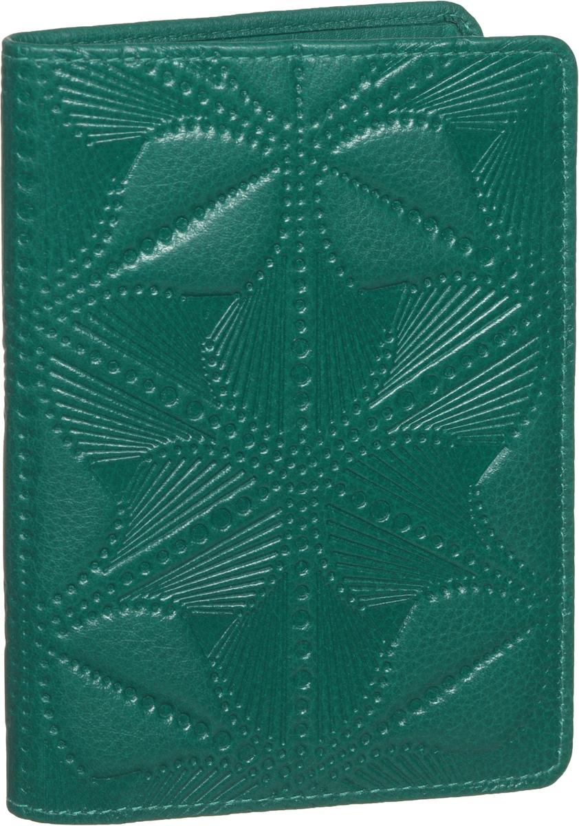 Бумажник водителя женский Fabula Abstraction, цвет: зеленый. BV.50.SEABS-14,4 Sli BMCЖенский бумажник водителя Fabula Abstraction изготовлен из натуральной кожи с декоративным тиснением в виде абстракции. Внутри имеется отделение для купюр, два кармана из кожи, семь карманов для пластиковых карт и внутренний съемный блок из прозрачного пластика для документов водителя, состоящий из шести карманов. Изделие упаковано в фирменную коробку.Такой бумажник не только защитит ваши документы, но и станет стильным аксессуаром, который прекрасно дополнит образ.