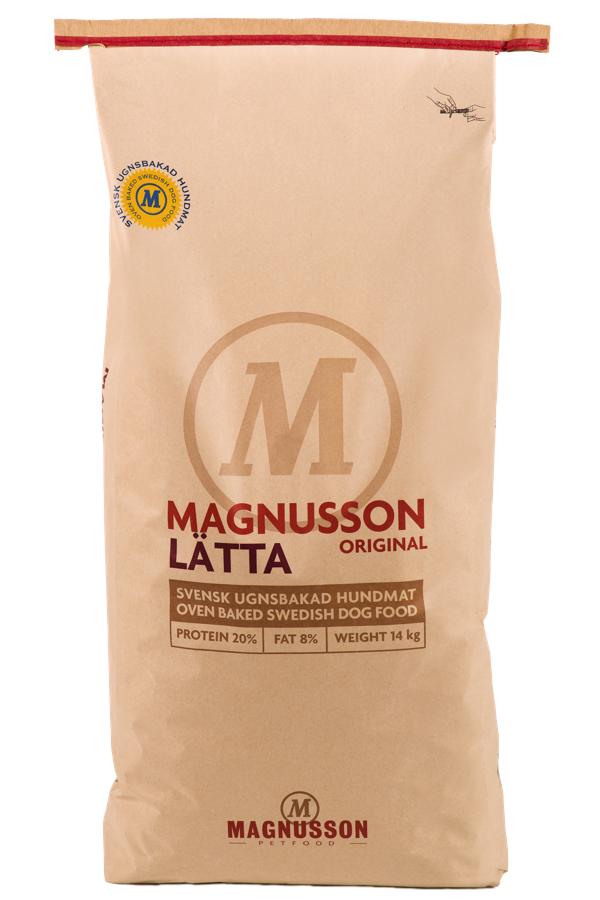 Корм сухой Magnusson Original Latta, для собак склонных к избыточному весу, 14 кг magnusson magnusson blanda original