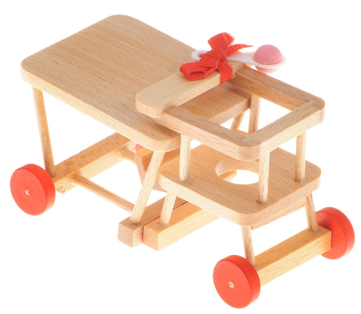 Fritz Canzler Стульчик-трансформер для кормления кукол sweet baby стульчик для кормления luxor classic arancione