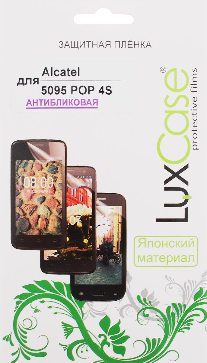 LuxCase защитная пленка для Alcatel OneTouch Pop 4S (5095), антибликовая аксессуар защитная пленка alcatel onetouch 6070k idol 4s red line