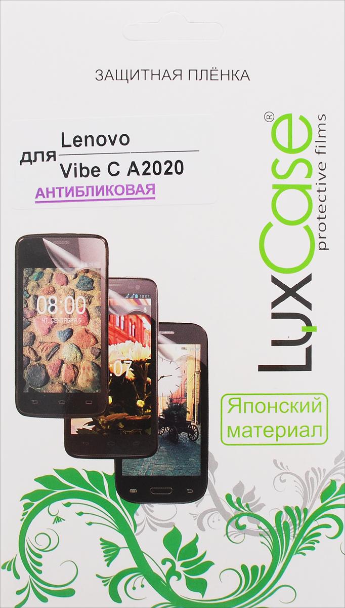 все цены на LuxCase защитная пленка для Lenovo Vibe C A2020, антибликовая онлайн