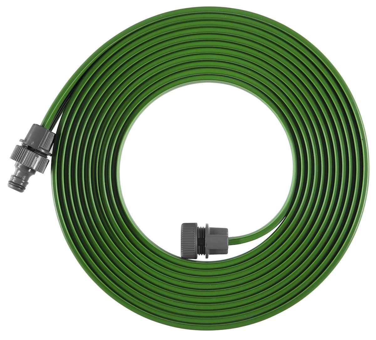 Шланг-дождеватель Gardena, цвет: зеленый, 7,5 м дождеватель truper t 10363