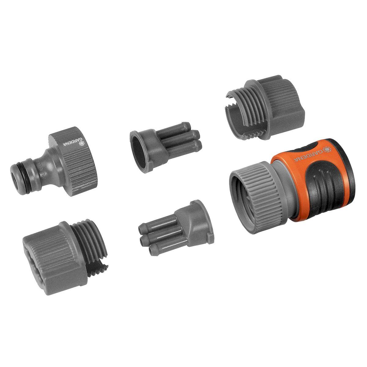 Комплект фитингов для шланга-дождевателя Gardena микроэлектромеханические системы и элементы