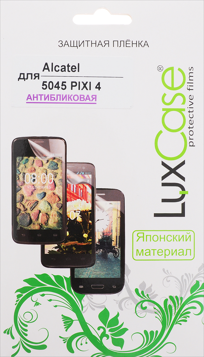 Фото LuxCase защитная пленка для Alcatel 5045 Pixi 4, антибликовая