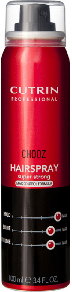 Cutrin Лак экстра-сильной фиксации Hair Spray Max Control, 300 мл cutrin chooz hair spray quick dry formula лак экстра сильной моментальной фиксации 300 мл