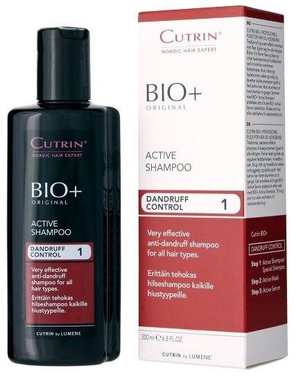Cutrin Активный шампунь против перхоти Active Shampoo, 200 мл116392Традиционный, чрезвычайно эффективный шампунь против перхоти. Предназначен для лечения серьезной, особенно жирной, перхоти, подходит для всех типов волос. Активный ингредиент - Пироктон Оламин. Удаляет перхоть, снимает зуд, нормализует работу сальных желез. Деготь заменен новым североевропейским ингредиентом - экстрактом побегов можжевельника, который успокаивает кожу головы.