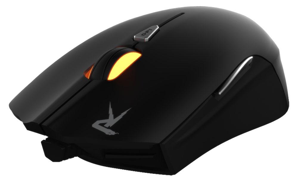 Gamdias Ourea FPS, Black игровая мышьGMS5501Игровая мышь Gamdias Ourea FPS обладает симметричным корпусом, настраиваемой подсветкой ирегулировкой веса. Стильная и эргономичная мышь отлично подойдет игрокам с любым типом хвата. Настраиваемая LED-подсветка:Настройка четырехцветной (красный, оранжевый, зеленый, синий) подсветки в зависимости от предпочтенийпользователя.64 КБ встроенной памяти:Сохранение до 6 профилей пользовательских настроек во внутреннюю память устройства.Частота опроса до 1000 Гц:Настраиваемая пользователем частота опроса 125 / 250 / 500 / 1000 Гц.8 000 000 кликов:Жизненный цикл мыши - минимум 8 000 000 кликов при интенсивном использовании.Система регулировки веса:Изменение общего веса мыши с помощью четырех грузиков весом по 5 грамм для повышения удобствауправляемости.Оптический сенсор 4000 dpi:Оптический сенсор с разрешением 4000 dpi, которое можно менять на лету, гарантирует безошибочноепозиционирование мыши.