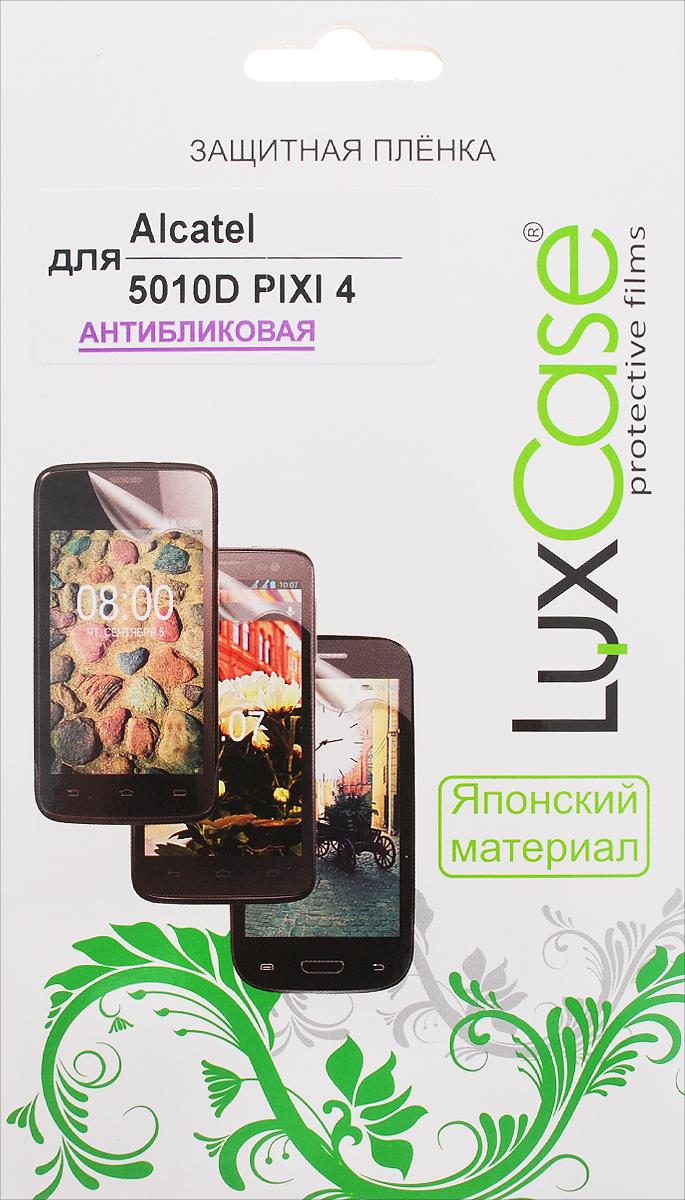 LuxCase защитная пленка для Alcatel OneTouch Pixi 4 (5010D), антибликовая аксессуар чехол alcatel one touch 5010d pixi 4 zibelino classico black zcl alc 5010d blk