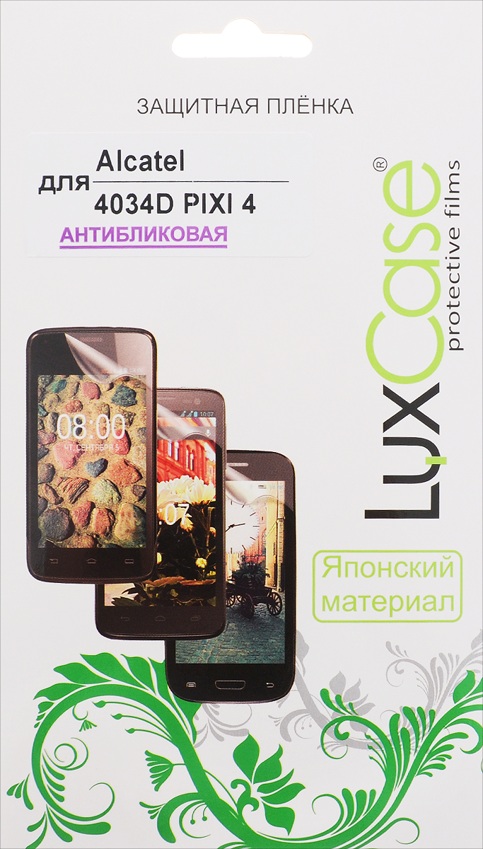 LuxCase защитная пленка для Alcatel OneTouch Pixi 4 (4034D), антибликовая 10 1 lcd matrix for hp 10 g2 2301 alcatel onetouch pixi 3 10 3g 8080 9010x screen display tablet pc parts free shipping