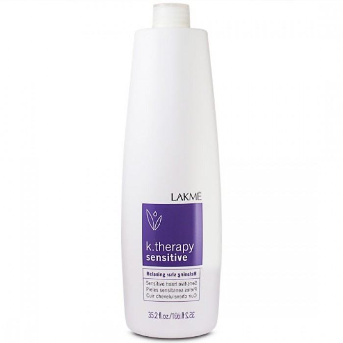 Lakme Шампунь успокаивающий для чувствительной кожи головы и волос Relaxing Shampoo Hair and Scalp, 1000 мл43113Состояние кожи: чувствительная, сухая или воспаленная кожа.Гиппоалергенная формула шампуня (не содержит мыла и красителей) мягко очищает кожу. Подходит для детей.Экстракт Алоэ Вера успокаивает и смягчает кожу, оказывая заживляющее действие. Содержит бисаболол, снимающий покраснения и зуд кожи головы. Продолжительное комфортное ощущение.Прошел дерматологический контроль на чувствительной коже