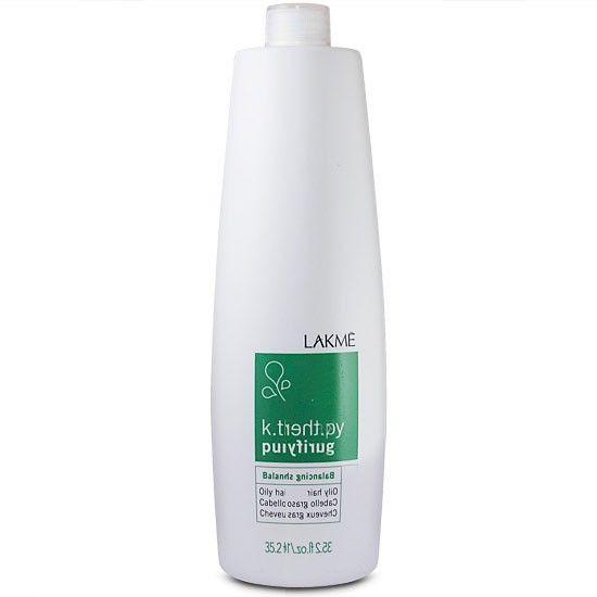 Lakme Шампунь восстанавливающий баланс для жирных волос Balancing Shampoo Oily Hair, 1000 мл43213Ассортимент специально разработанных продуктов для жирных волос.Состояние волос: Лоснящиеся, жирные волосыСодержит сбалансированный комплекс серных аминокислот и цинка – физиологические регуляторы секреции сальных желез. Экстракты бамбука и лопуха очищают кожу головы, обеспечивают волосам легкость и объем. Содержит концентрат ледниковой воды, богатой минералами и олиго-элементами, которые естественным образом смягчают и защищают кожу головы. Благодаря мягкому воздействию подходит для ежедневного использования.Прошел дерматологический контроль