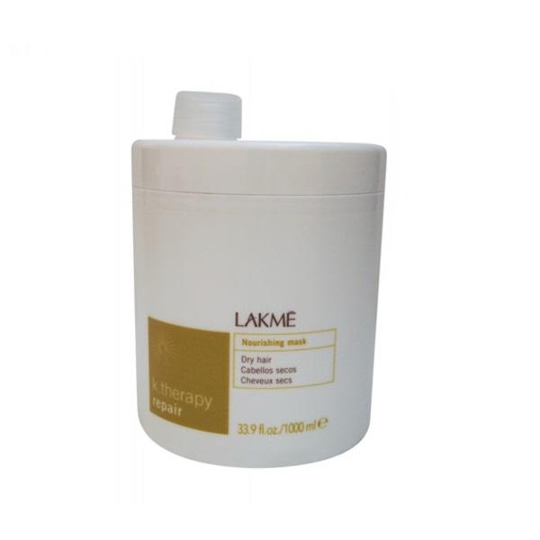 Lakme Маска питательная для сухих волос Nourishing Mask Dry Hair, 1000 мл43443Ассортимент специально разработанных продуктов для сухих и очень сухих волос.Состояние волос и кожи головы: сухие, пористые и поврежденные волосы; обезвоженная, стянутая кожа головы.Смягчающая формула маски оказывает питательное и увлажняющее действие на волосы. Масло Бабассу предотвращает обезвоживание и защищает волосы и кожу головы.Содержит концентрат ледниковой воды, богатой минералами и олиго-элементами, которые естественным образом смягчают и защищают кожу головы.Прошла дерматологический контроль
