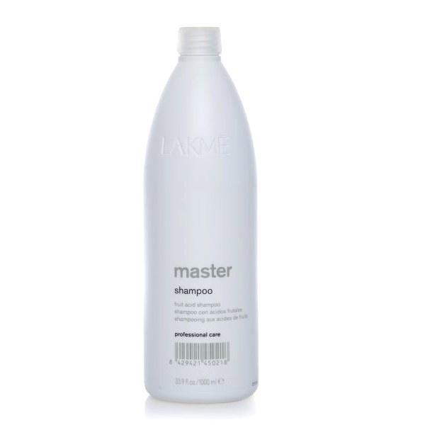 Lakme Шампунь для волос Shampoo, 1000 мл45021Предназначен для предварительной подготовки волос к химическим процедурам или нейтрализации действий после химического выпрямления/завивки волос или применения обесцвечивающей пудры.Содержит фруктовые кислоты, которые предохраняют и закрывают чешуйки волос, оставляя волосы мягкими, блестящими и полностью увлажненными.Экстракт водорослей защищает и восстанавливает pH-баланс кожи головы после химического воздействия.НЕ использовать после окрашивания крем-красками Collage и Gloss.Только для профессионального применения в салоне.