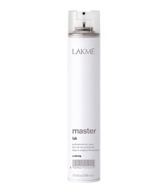 Lakme Лак для волос экстра сильной фиксации Lak X-Strong, 500 мл45441Лак для волос экстра сильной фиксации Lakme Master Lak X - Strong - профессиональный лак для создания причесок из длинных волос, вечерних причесок и акцентирования прядей. Обеспечивает сильную фиксацию, не склеивая волосы. Предохраняет волосы от воздействия влаги и внешних агрессивных факторов. Легко удаляется при расчесывании. Не оставляет налета. Экономичен в использовании.