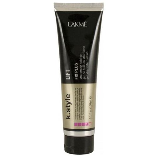 Lakme Гель для укладки волос экстра сильной фиксации Lift Xtra Strong Gel, 150 мл46132Гель для укладки волос экстра сильной фиксации Lakme K Style LiftДлительная фиксация. Легко смывается. Подходит для всех типов волос.Устойчив к влажности. Обладает термозащитными свойствами. Древесно - травяной аромат. Степень фиксации - 4