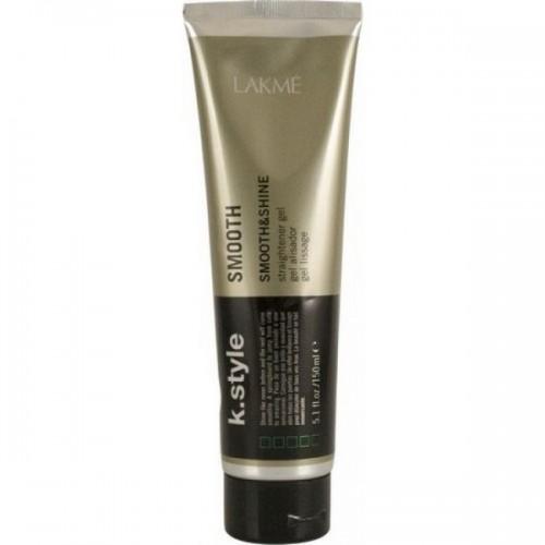 Lakme Гель выпрямляющий для укладки волос Original Smooth Straightener Gel, 150 мл46232Гель выпрямляющий для укладки волос Lakme K Style Smooth Контроль гладкости. Блеск и мягкость волос. Идеально подходит для вьющихся волос. Устойчив к влажности. Обладает термозащитными свойствами. Яблочный аромат с легким оттенком лилии. Степень фиксации - 0