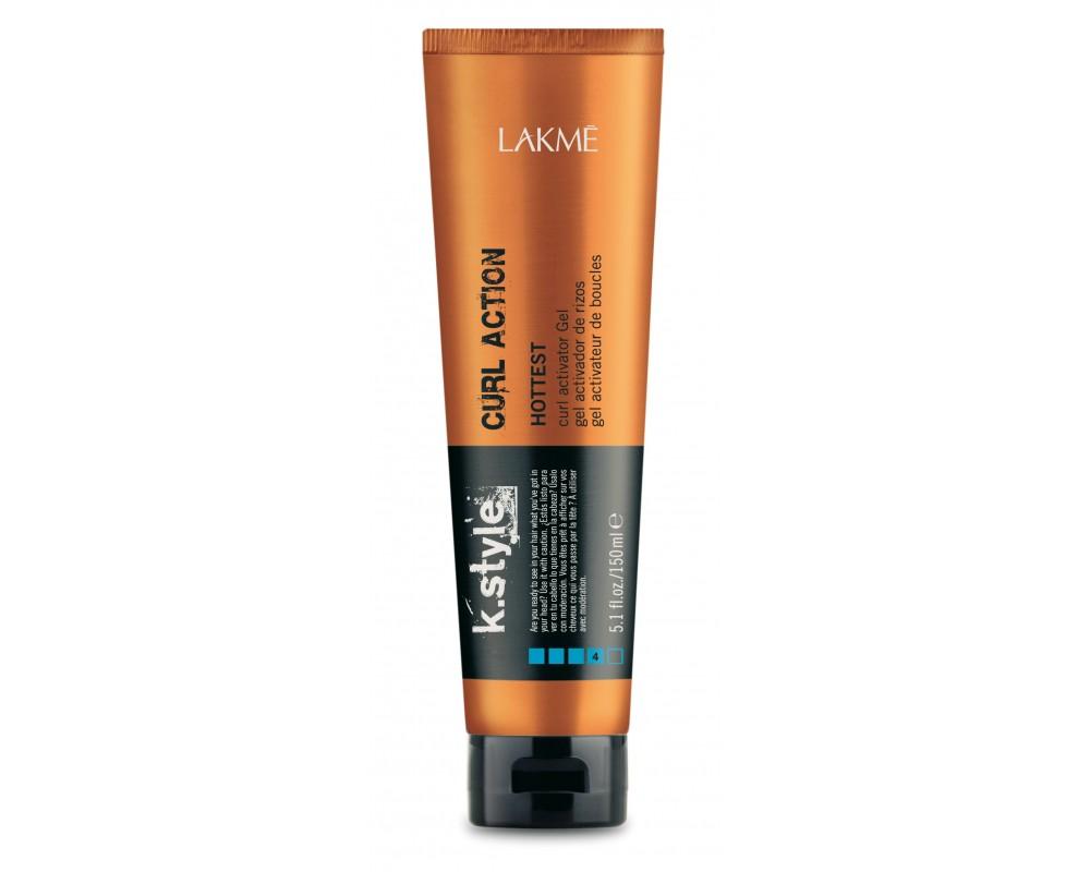 Lakme Гель-текстура для вьющихся и кудрявых волос Curl Action Gel, 150 мл46512Гель-текстура для вьющихся и кудрявых волос Lakme K Style Curl ActionСильная фиксация. Группирует локоны. Увлажняет волосы. Обладает эффектом «памяти», который обеспечивает возможность восстановить укладку на следующий день при помощи влажных рук. Защита волос при термическом воздействии. Устойчив к влажности. Сладковатый аромат с нотками малины и ежевики. Степень фиксации - 4