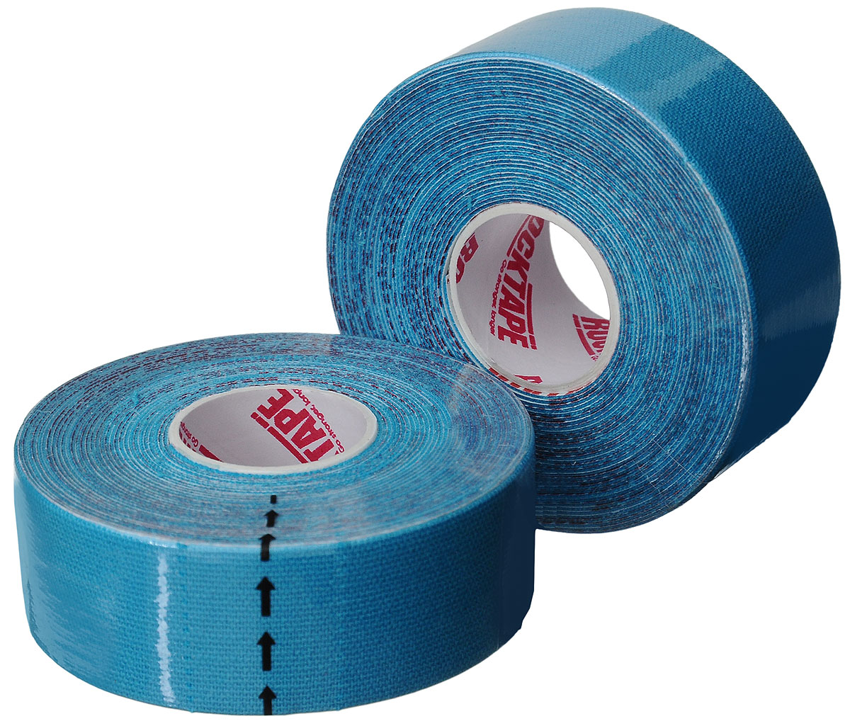 Кинезиотейп Rocktape Digit, цвет: голубой, 2,5 x 500 см, 2 шт