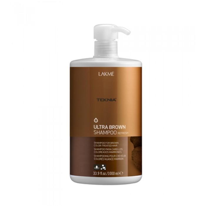 Lakme Шампунь для поддержания оттенка окрашенных волос Коричневый Shampoo, 1000 мл47021Специально разработанная формула с экстрактом какао и вытяжкой семян индийской акации, которые обладают влагоудерживающими свойствами, мягко очищает волосы.Образует защитную пленку, которая предотвращает потерю цвета.Возвращает волосам мягкость, блеск и богатство оттенков.Содержит WAA™ – комплекс растительных аминокислот, ухаживающий за волосами и оказывающий глубокое воздействие изнутри.