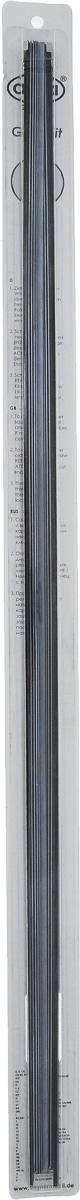 Резинка для щеток стеклоочистителей Alca, профильелочка, 70 см, 2 шт132000Резинки Alca с профилем елочка имеют спинное усиление и стальной замок. Можно укорачивать. Изделия готовы к использованию и отличаются высоким качеством.Длина резинки: 700 мм/28. Количество: 2 шт.