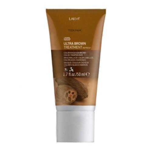 Lakme Средство для поддержания оттенка окрашенных волос Коричневый Treatment, 50 мл47053Благодаря входящим в состав экстракту какао и керамидному комплексу средство восстанавливает волокно волоса изнутри и защищает волосы , окрашенные в коричневые оттенки, от потери цвета, насыщает их блеском и продлевает интенсивность оттенков.Масло кокоса очищает и смягчает волосы, защищает кутикулы от химического воздействия. Витамин А и масло монои таитянской защищают волосы от внешнего воздействия, увлажняют и восстанавливают все типы волос, делая их блестящими и шелковистыми.Средство для поддержания оттенка окрашенных волос «Коричневый» Lakme Teknia Ultra Brown Treatment содержит WAA™ – комплекс растительных аминокислот, ухаживающий за волосами и оказывающий глубокое воздействие изнутри.