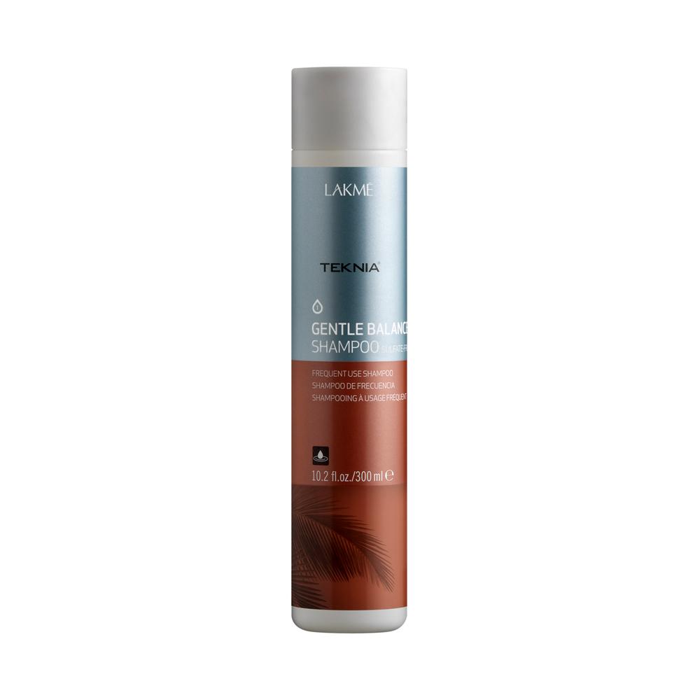 Lakme Шампунь для частого применения для нормальных волос Sulfate-Free Shampoo, 100 мл47113Шампунь подходит для ежедневного применения, благодаря сбалансированной и мягкой формуле без использования сульфатов. Содержит экстракт акаи, который усиливает увлажняющие свойства шампуня. Антиоксидантные и восстанавливающие свойства масла акаи делают волосы мягкими, здоровыми и естественно блестяшими. Бережно относится к цвету.Шампунь для частого применения для нормальных волос Lakme Teknia Gentle Balance Sulfate - Free Shampoo содержит WAA™ – комплекс растительных аминокислот, ухаживающий за волосами и оказывающий глубокое воздействие изнутри. Подходит для чувствительной кожи головы.