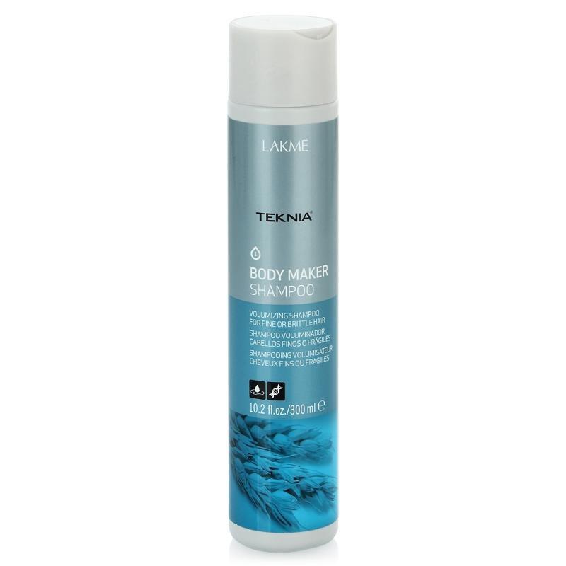 Lakme Шампунь для волос, придающий объем Shampoo, 100 мл47613Обогащенная пшеничными протеинами формула шампуня придает объем волосам, не утяжеляя их. Укрепляет структуру волос, питает, повышает прочность и утолщает волосы. Удаляет статический электрический заряд. Содержит WAA™ – комплекс растительных аминокислот, ухаживающий за волосами и оказывающий глубокое воздействие изнутри. Придает интенсивный блеск и легкость.