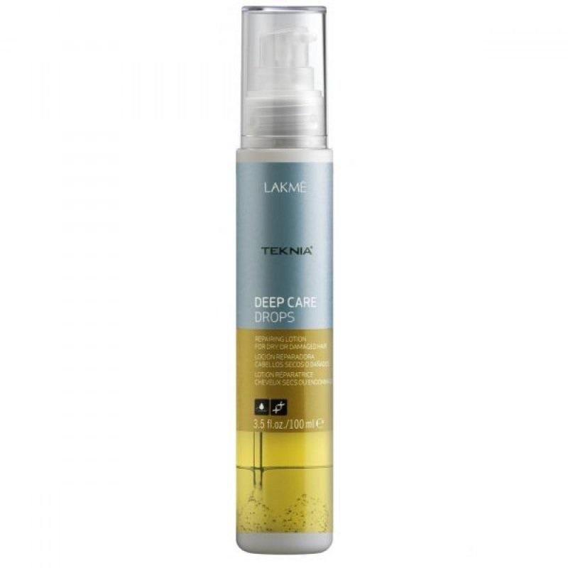 Lakme Лосьон восстанавливающий для сухих или поврежденных волос Drops, 100 мл47743Входящее в состав лосьона абиссинское масло восстанавливает и разглаживает поврежденные кончики волос, защищая их от воздействия агрессивных внешних факторов.Создает защитный барьер, предотвращающий появление ломкости волос. Придает волосам потрясающий блеск и шелковистость.Содержит WAA™ – комплекс растительных аминокислот, ухаживающий за волосами и оказывающий глубокое воздействие изнутри.