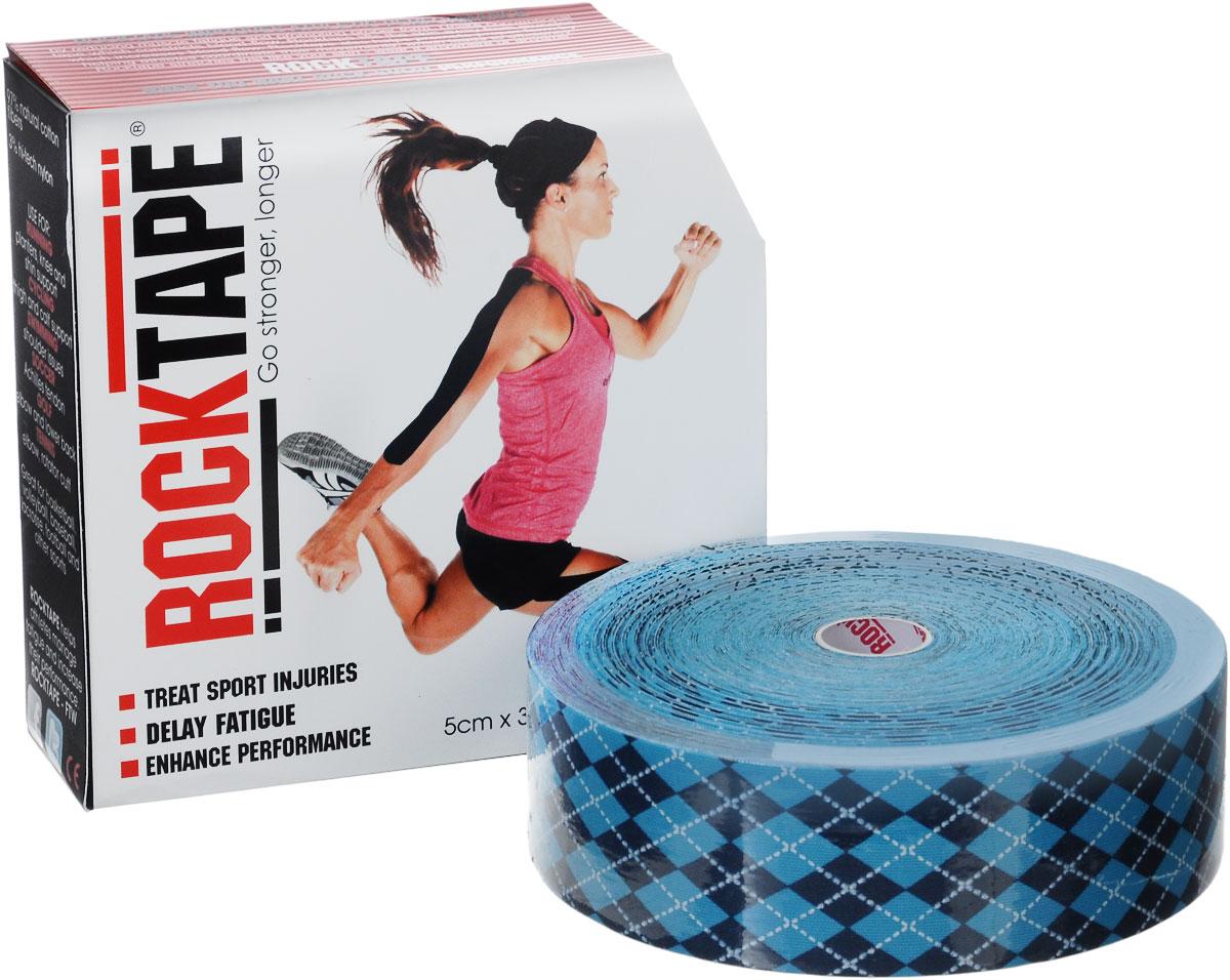 Кинезиотейп Rocktape Bulk, цвет: голубой, темно-синий, белый, 5 см х 32 мRCT100-PU-MBКинезиотейп Rocktape Bulk, выполненный из хлопка и нейлона, предназначен для снятия отеков и рассасывания гематом. Уменьшает мышечную усталость и способствует притоку крови для более быстрого восстановления. Изделие имеет плотную волнообразную структуру ткани. Не содержит латекса и цинка, водостойкий.