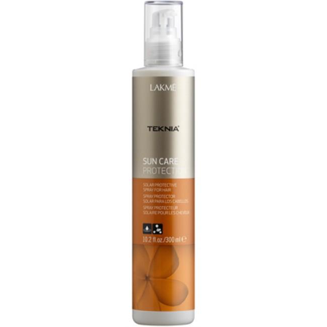 Lakme Спрей для волос солнцезащитный Protection Spray, 300 мл47922Обеспечивает мгновенную защиту волос от солнца, воздействия хлора и морской воды.Масла кокоса и монои таитянской увлажняют, питают и придают волосам мягкость и естественный блеск.Содержит WAA™ – комплекс растительных аминокислот, ухаживающий за волосами и оказывающий глубокое воздействие изнутри.