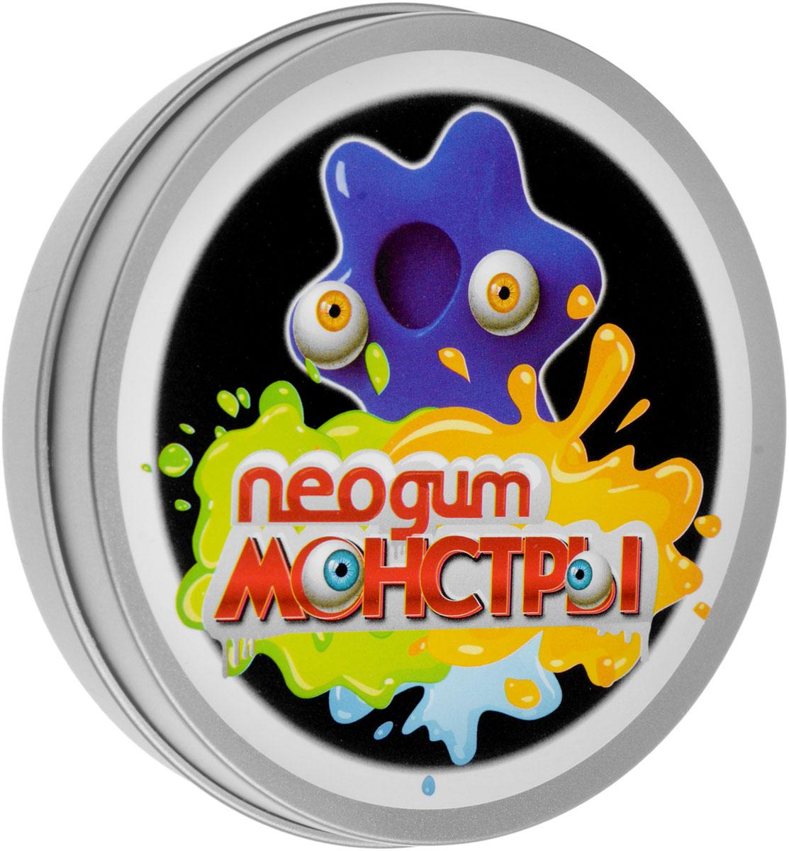 Neogum Жвачка для рук Монстры цвет синий пластилин neogum жвачка для рук изумрудная роса
