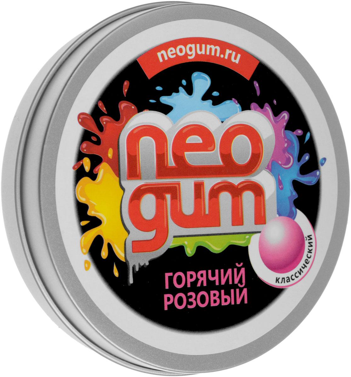 Neogum Жвачка для рук Горячий розовый жвачка для рук меняющая цвет