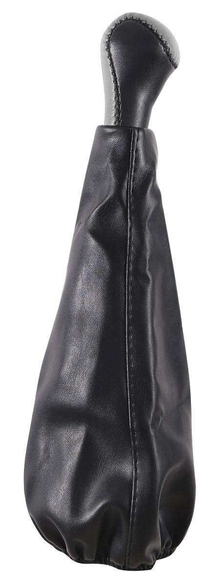 Ручка КПП Azard, для ВАЗ 2107, винил, цвет: серый колонка rexant 2107 18 2107 black