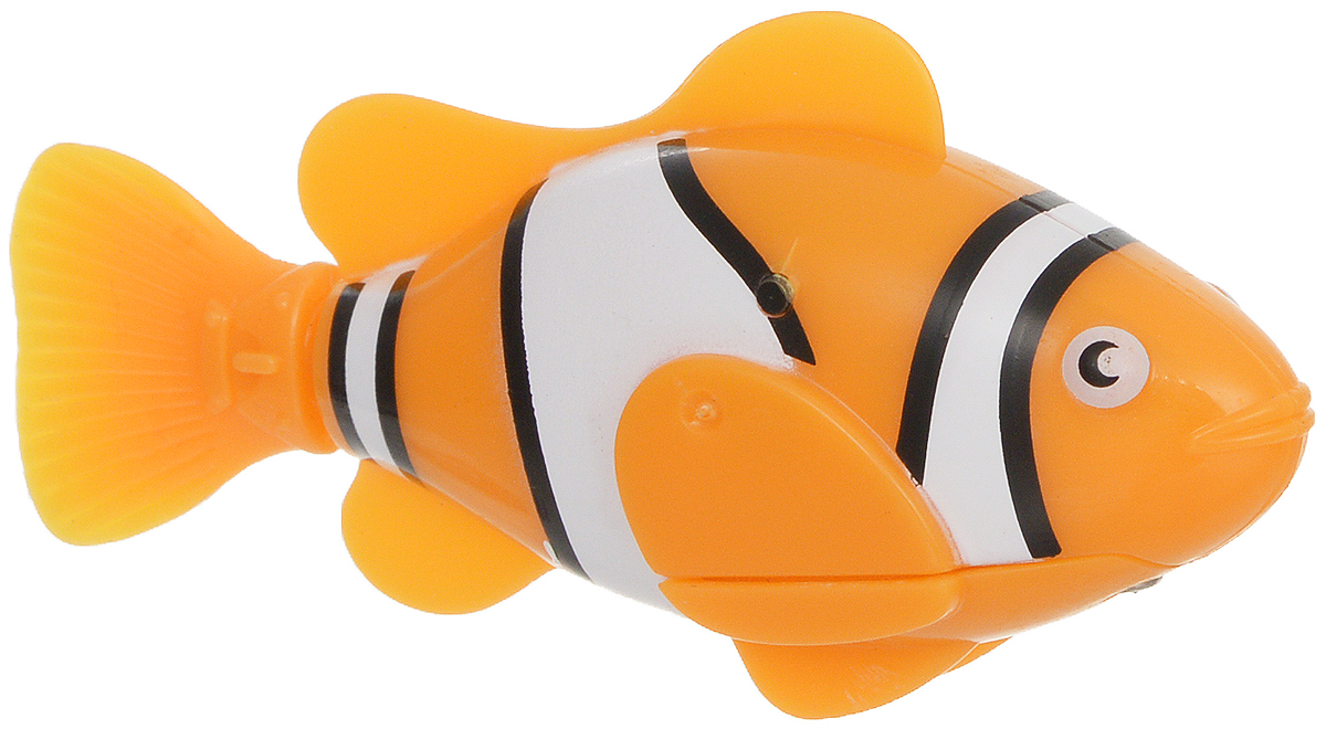 Bradex Рыбка-робот Funny Fish цвет оранжевый фигурки игрушки bradex рыбка робот funny fish