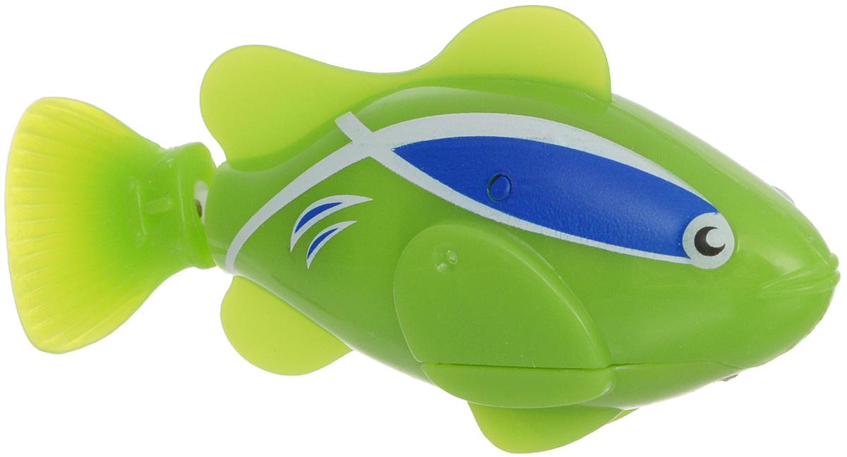 Bradex Рыбка-робот Funny Fish цвет зеленый фигурки игрушки bradex рыбка робот funny fish