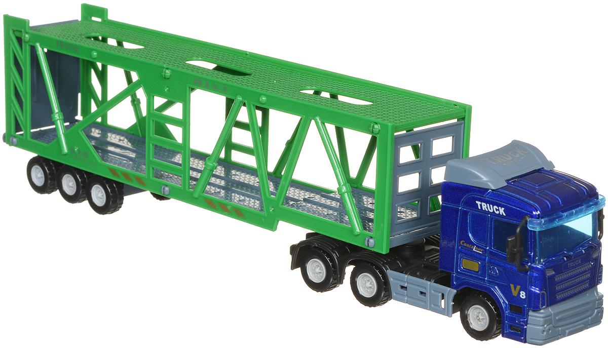 Junfa Toys Автовоз цвет синий зеленый