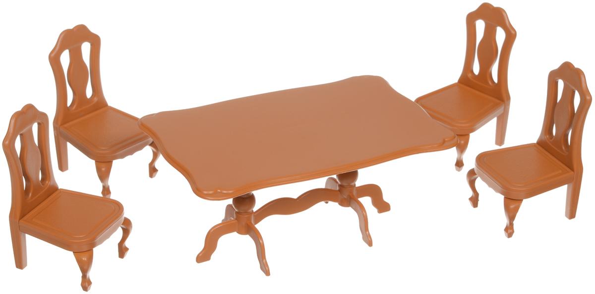 ABtoys Набор мебели для столовой набор мебели для гостиной 2 с аксессурами счастливые друзья abtoys