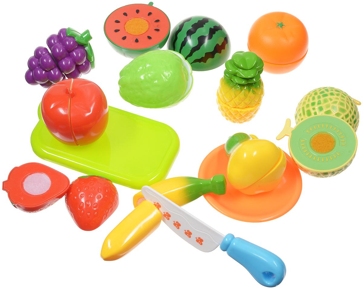 ABtoys Игрушечный набор продуктов Фрукты 13 предметов
